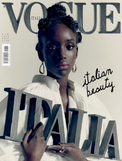 Vogue Italia first-cover